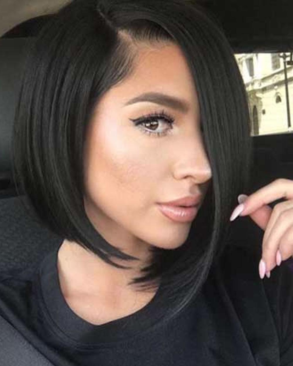 Simple-Asymmetrical long bob hairstyles 2019 4