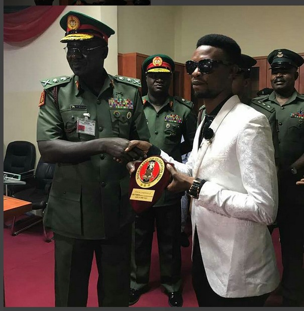 Chief of Army staff General Buratai Honours I Go Die With The African Child Price