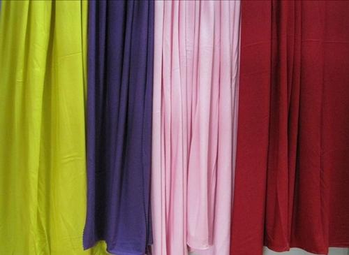 Telas viscosa de algodón en jersey