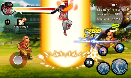Kung Fu Attack 4 screenshot 4