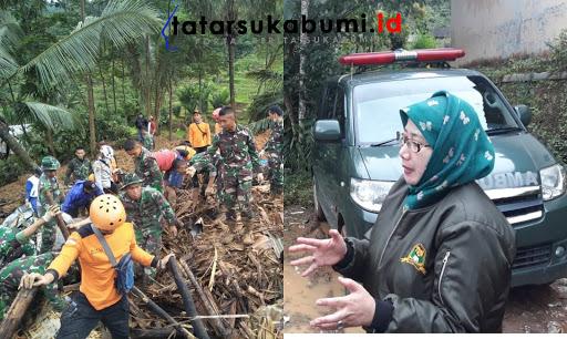 Reni Marlinawati : Lokasi Longsor Cisolok Sukabumi Tidak Memungkinkan Untuk Dihuni Kembali