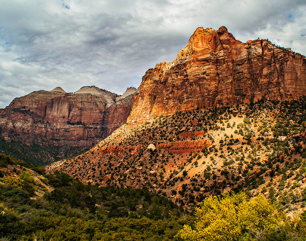 """Light on Zion"" by Rich Sherman"
