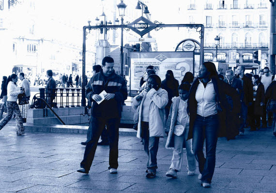 6.578.079 habitantes censados era la población de la Comunidad de Madrid en 2017