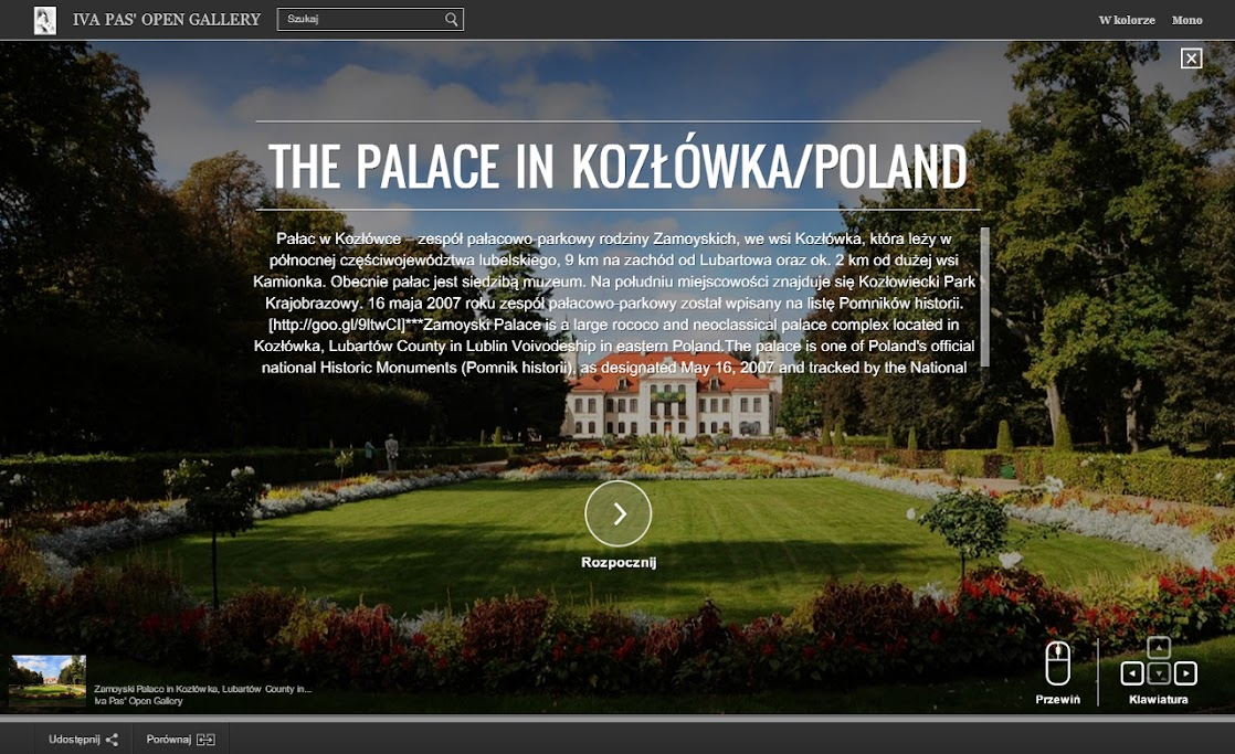 THE PALACE IN KOZŁÓWKA/POLAND