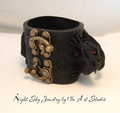 Dragon Jewelry Bracelet Cuff