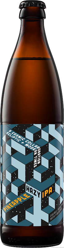 Ecliptic Brewing + Modern Times Cosmic Collaboration - Pineapple Hazy IPA