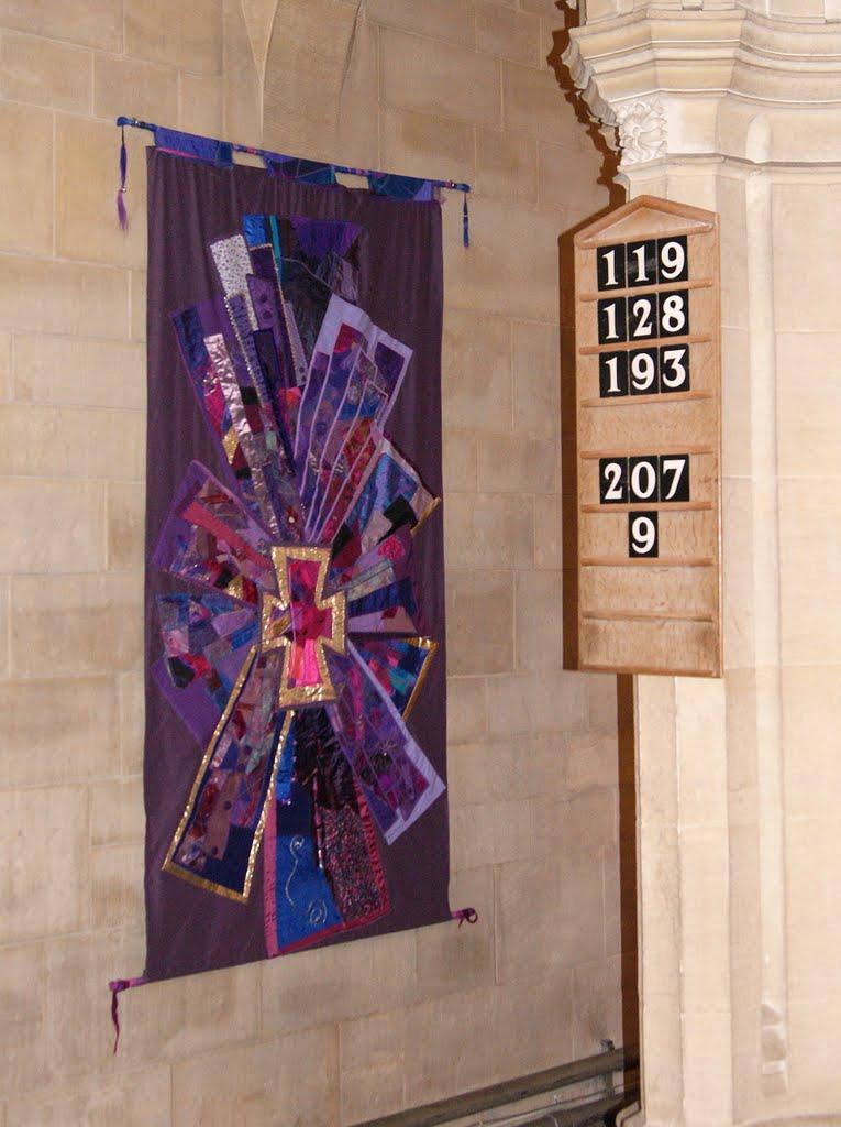 Purple Textile Art Piece II 1919x2570