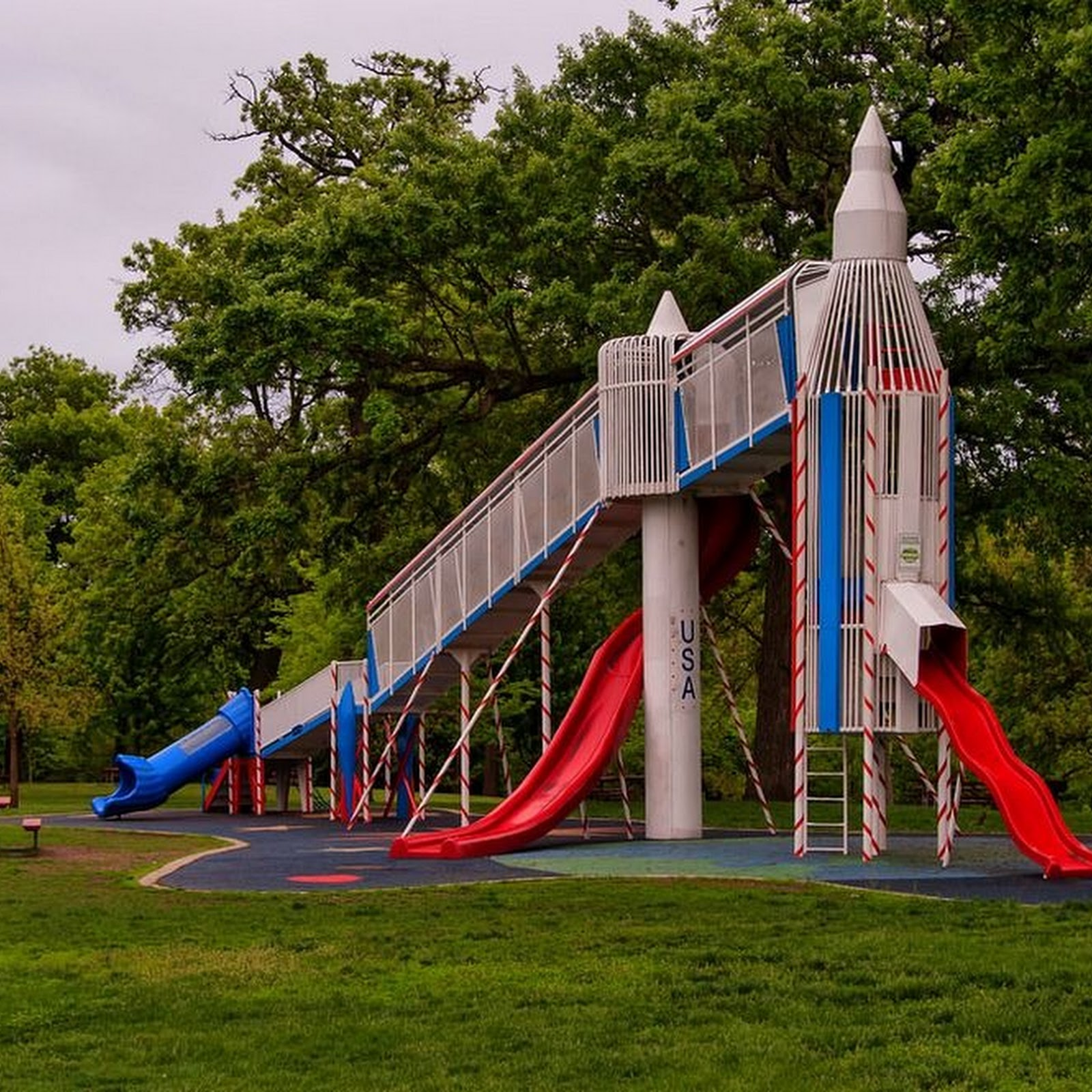 Playgrounds From The Space Age