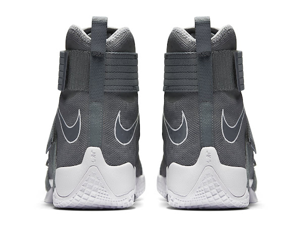 First Look at Cool Grey Nike LeBron Soldier 10