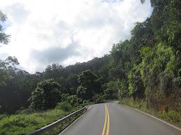 On the road to Hana.