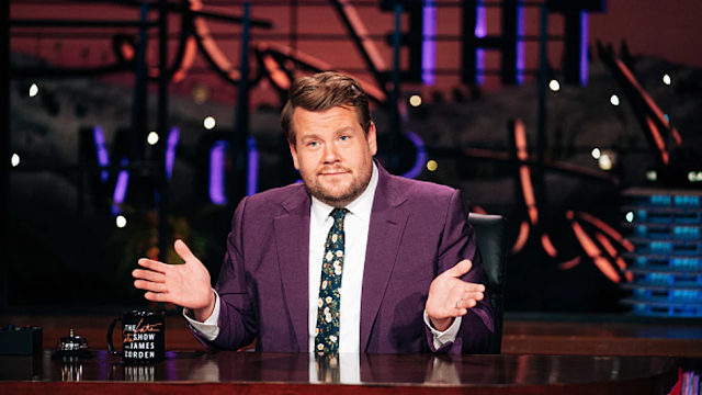 Heterosexual Male James Corden Accused Of 'Gay-Face' In Netflix's 'The Prom'