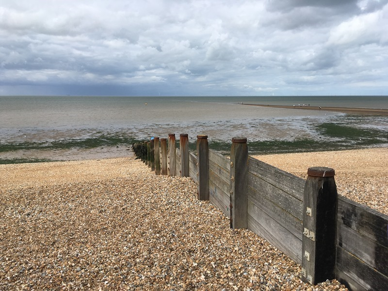 Groynes on Tankerton Beach