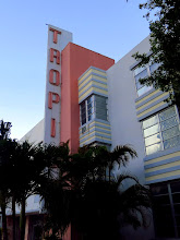Photo: the Tropics Hotel - pretty groovy for a 16 dollar-a-night place to sleep adjacent to the Ritz Carlton