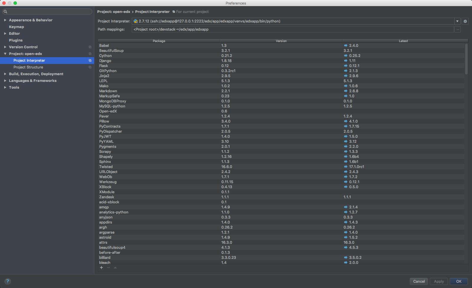 Re: Pycharm Debugging - ImportError: No module named plugin - Google