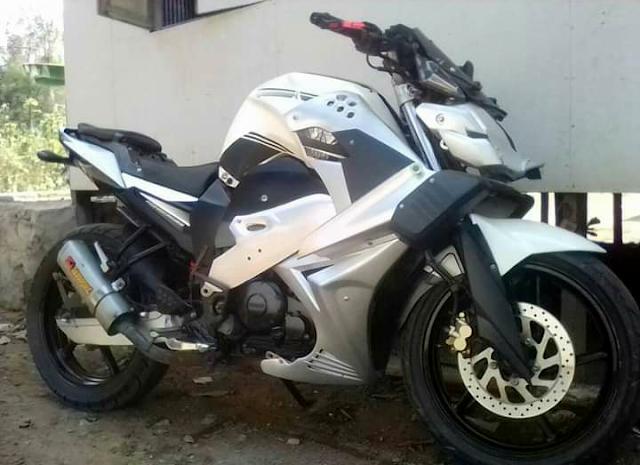 10+ Modifikasi Motor Yamaha Byson Simple Tapi Keren !!