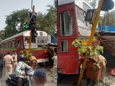 Bus Drive ko  Heart  Attack  ane Say Accident