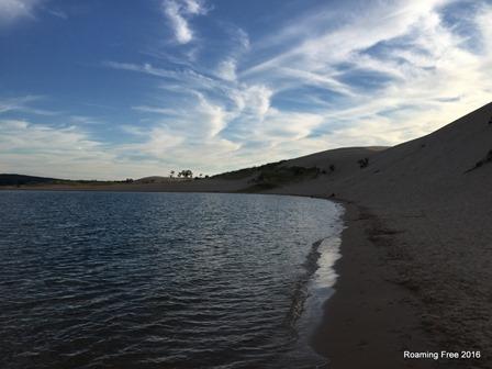Calm lake on a beautiful evening