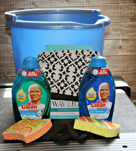 Mr. Clean Liquid Muscle and Cleaning Kit #CleanFreeWeekend
