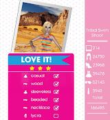 Teen Vogue Me Girl Level 37 - Tribal Swim Shoot - Sienna - Love It! Three Stars