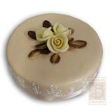 46. kép: Ünnepi torták - Marcipándíszes torta
