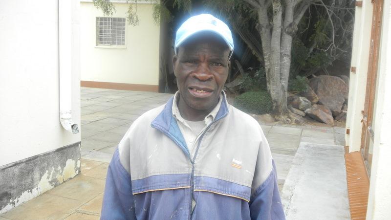 Gardener Dube from Zimbabwe