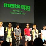 Men's EGG favorite fashion show in Shibuya, Tokyo, Japan