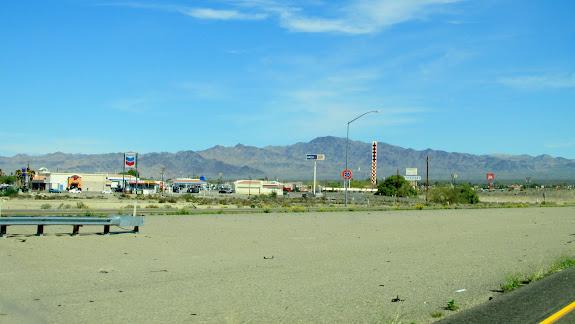 Baker: California's version of Green River, Utah