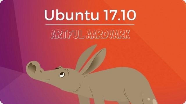 UBUNTU-17.10-artful-aardvark