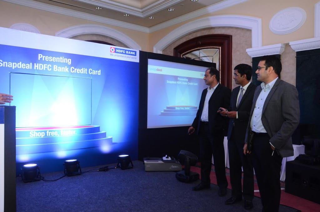 SnapDeal HDFC Bank Credit Card Lanuch - 7