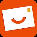 Popcarte - Send real postcard icon