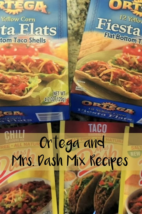 Ortega and Mrs. Dash Mix Recipes