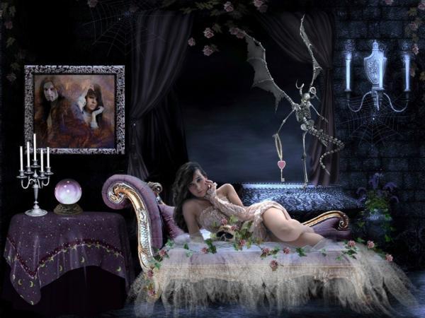 Scary Vampire Maiden, Gothic