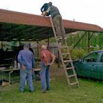Nagytakarítás a parókia és a templomunk kül és belterületén_2010