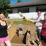 Stavba pece - druhý víkend