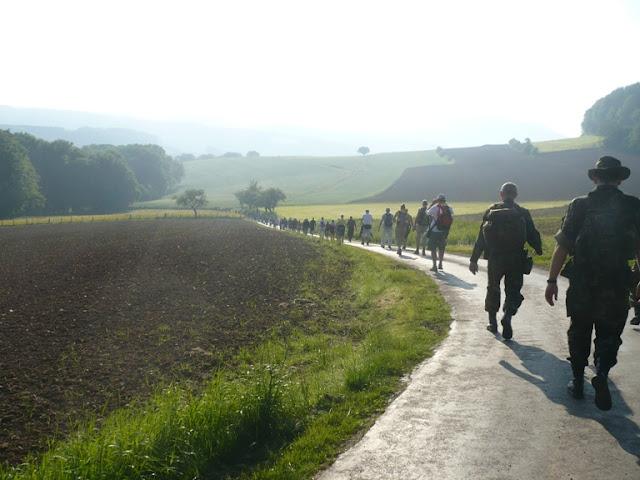 Diekirch, Marche de l'Armée:12, 20, 2x20, 2x40km: 2-3/6/2012 P1170351