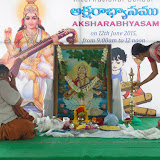 'AKSHARABHAYASAM' event on 12/06/2015.