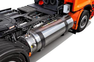 Iveco Stralis Natural Power EURO VI. Zbiornik LNG
