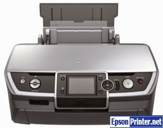 How to reset Epson R360 with program