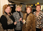 Wild things flock together. From left, Geneva Fenton, Jodi Sanders, 2009 chairwoman Sharon Mayes and Jill Kralicke.