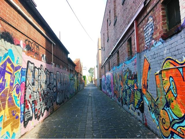 Melbourne Graffiti laneway