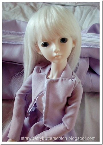 Ball Jointed Doll In Purple