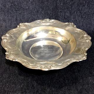 Sterling Silver Gorham Trophy Bowl 2