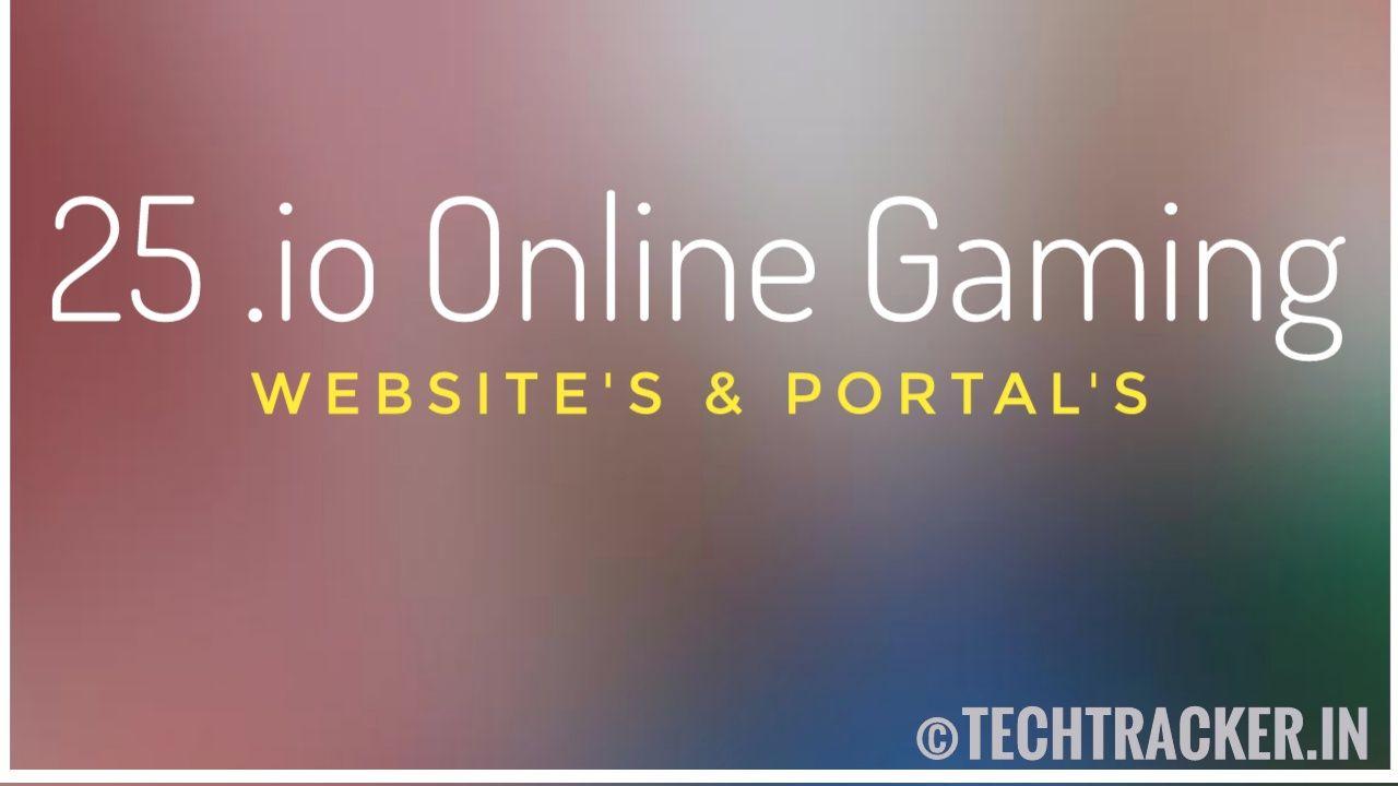 25 .io Online Gaming Websites & Portals