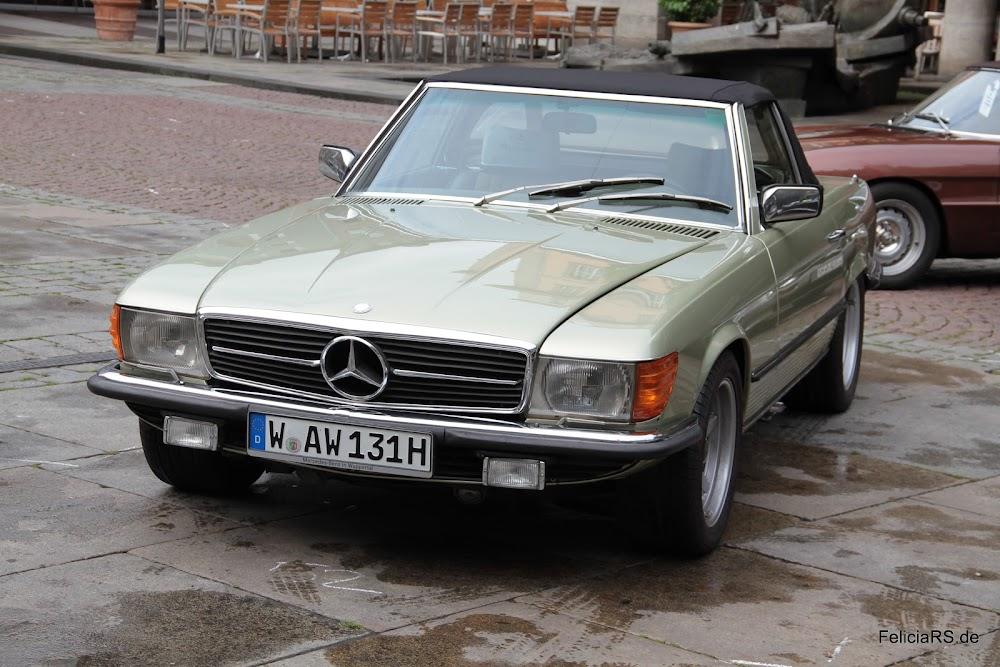 Startnummer 52 Mercedes 350 SL 1976