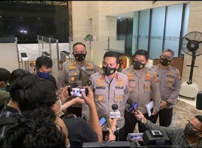 Polisi Sebut Penembakan 6 Laskar FPI Bukan Atas Perintah Atasan