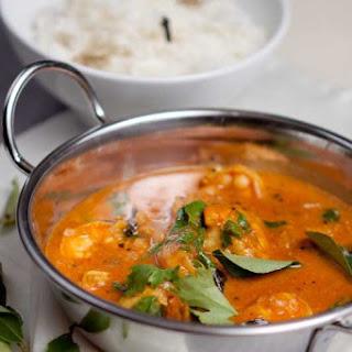 Malabar Prawn Curry.