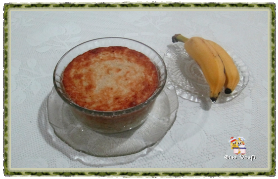 Suflê de bananas 1