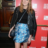 WWW.ENTSIMAGES.COM -   Laura Carmichael   arriving  at     Great Britain - press night at Theatre Royal Haymarket, London September 26th 2014West End Opening at Theatre Royal Haymarket for Richard Bean's GREAT BRITAIN -  Play about an ambitious tabloid editor in production described as anarchic satire about the press, the police and the political establishment.                                                    Photo Mobis Photos/OIC 0203 174 1069
