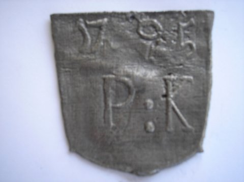 Naam: Pieter KeunPlaats: HaarlemJaartal: 1795Boek: Steijn blz 39