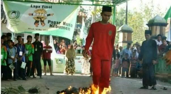 Sambut Ramadhan, Pagar Nusa Gelar Festival Sepakbola Durian